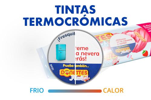 tintas termocrómicas ó termocromáticas
